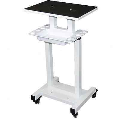 Dental Rolling Equipment Cart Stand Wtray