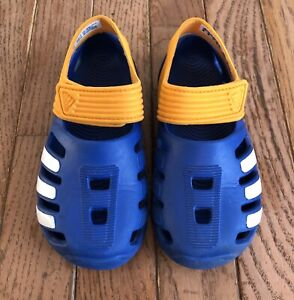 Adidas toddler water shoes size 9