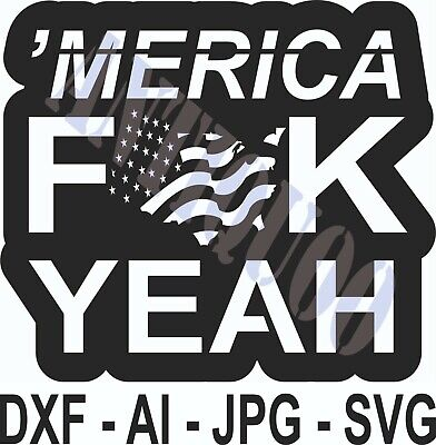 Dxf File For Cnc Plasma Router Laser Cut Vector Dxf Cdr Files America Yeah