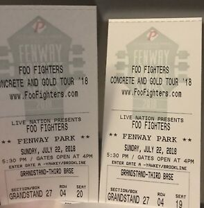Foo fighters in Boston!