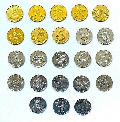 Vintage Star Wars Coins Last 17 POTF and DROIDS 1985