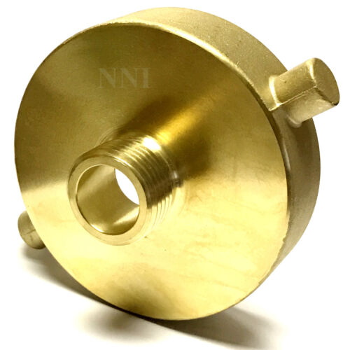 """NNI Fire Hydrant Adapter 2-1/2"""" Female NST-NH x 3/4"""" Male GHT Garden Hose"""