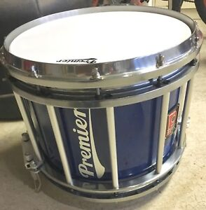 Premier HTS 800 Pipe Band Snare Drum - Polished Aluminum