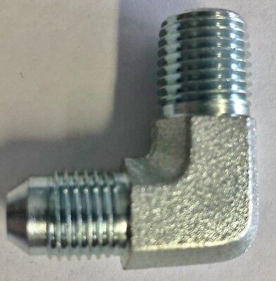 2501-06-06 Hydraulic Fitting Mj -mp 90