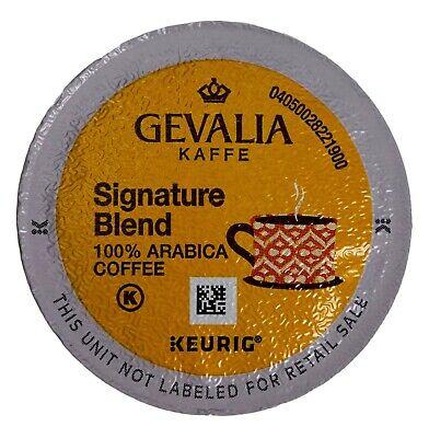 Gevalia Mild Coffee (Gevalia Kaffe Signature Blend Coffee Mild Light-Roast Arabica, Keurig K-Cup Pods )