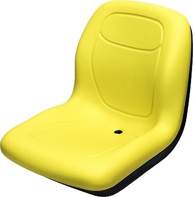 John Deere Yellow Vinyl Seat Fits Gator 6x4 Serial 20789 Up