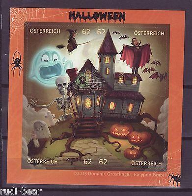 Österreich Block  78 **  Halloween