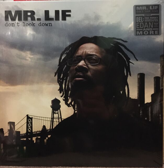 MR. LIF - DON'T LOOK DOWN SEALED VINYL LP
