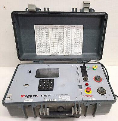 Megger Ttr310 Three Phase Transformer Turns Ratio Test Set
