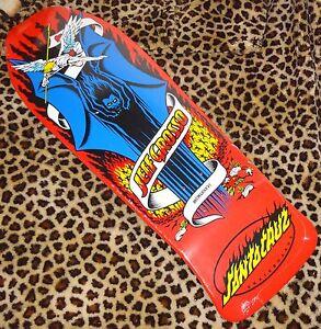 SANTA-CRUZ-Jeff-Grosso-Demon-Tavola-Skateboard-25-4cmx76-5cm-Rosso