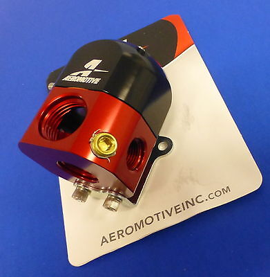 Aeromotive 13204 Fuel Pressure Regulator Bypass 3-15 PSI Carbureted Adjustable