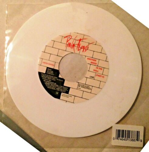 PINK FLOYD - ANOTHER BRICK IN THE WALL ( LIVE ) - PROMO WHITE VINYL - NEW!