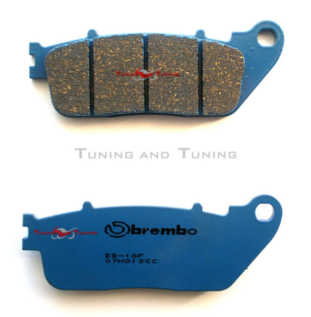 REAR BRAKE PADS BREMBO C. CERAMIC FOR HONDA CROSSRUNNER 800 2011 2012 (07HO13CC)