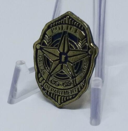 Dallas Texas Police Lapel Pin