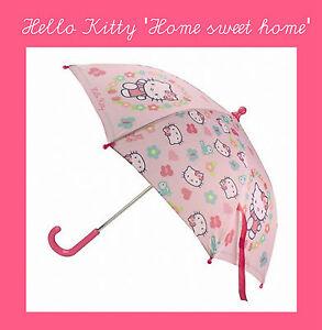 �� HELLO KITTY HOME SWEET HOME Regenschirm für Mädchen