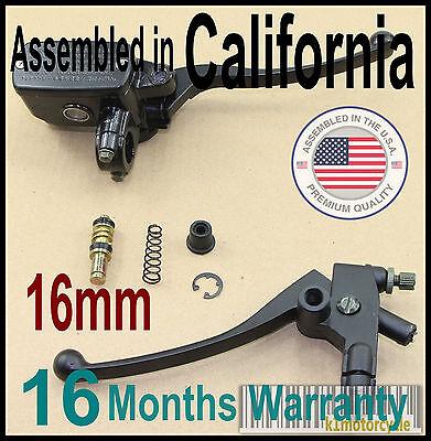 16mm Yamaha TX500 650 750 SR500 XS500 650 700 750 Brake Master Cylinder & Clutch