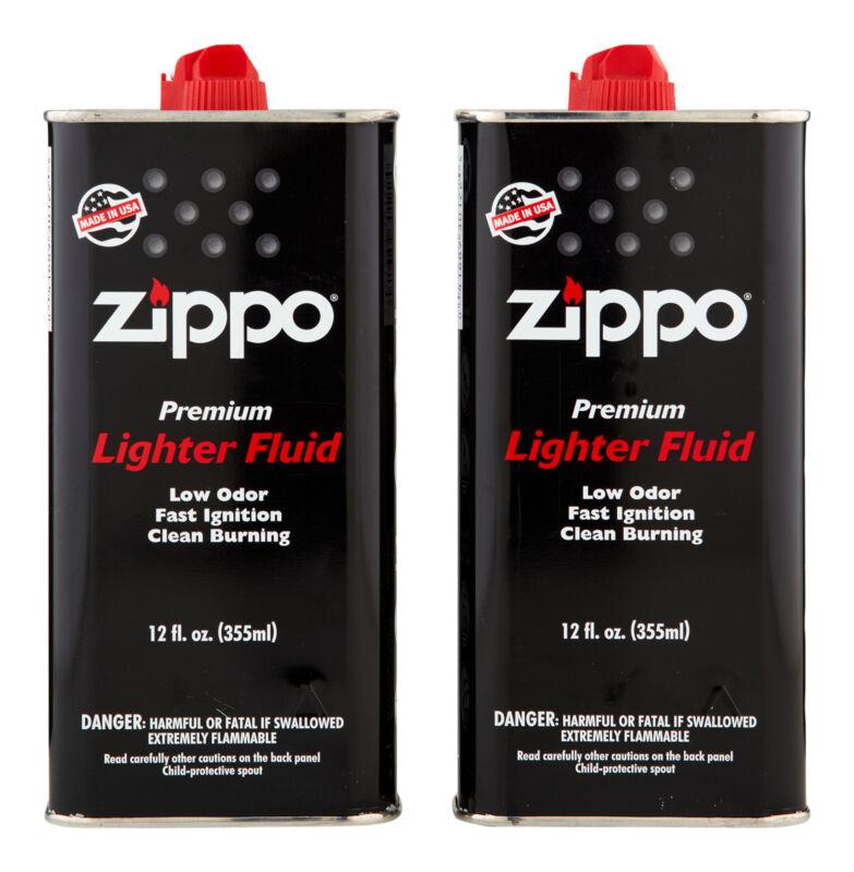 Zippo Lighter Fluid 2 ct 12 oz. Lighter Fluid