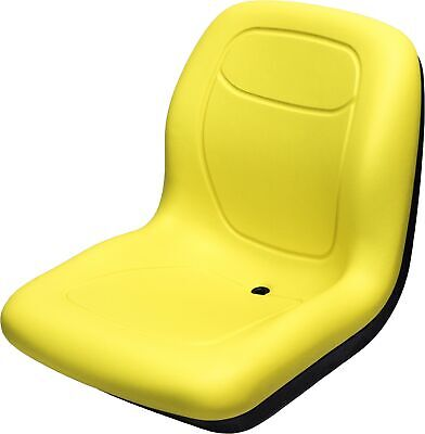John Deere 850 Compact Series Yellow Vinyl Bucket Seat Kit - Replaces Ch16115