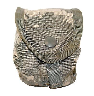 US Army Single Hand Grenade Pouch, ACU Digital, MOLLE II USGI Utility Pouch - Molle Grenade Pouch