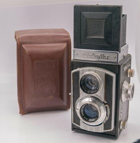 Welta Weltaflex 120 Film TLR Camera w/ Rectan V 75mm F3.5 Lens & Case