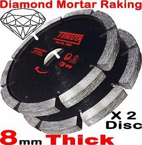 2X Mortar Raking Disc 115mm 41/2