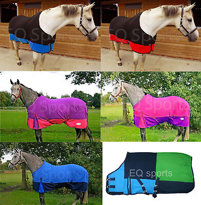 Superb Quality Horse Fleece Rugs Fabulous Colours Various Styles 3'0''-7'3''!! ()