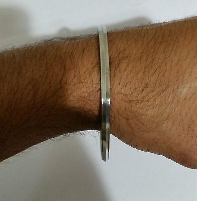 Stunning Stainless Steel Thin 1 Edge kara - One Edge Sikh Kada Bracelet R6 Gift