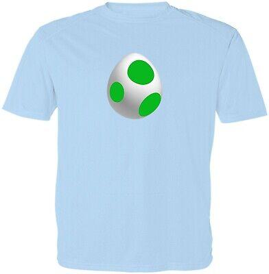 Nintendo Super Mario Bros Unisex Kid Girl Boy Youth Yoshi Egg Video Game T-Shirt ()