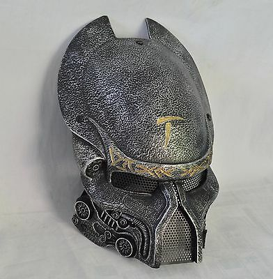 a04bb210087055 Silver Paintball BB Gun Wire Mesh Protection Alien Vs Predator Mask  Halloween