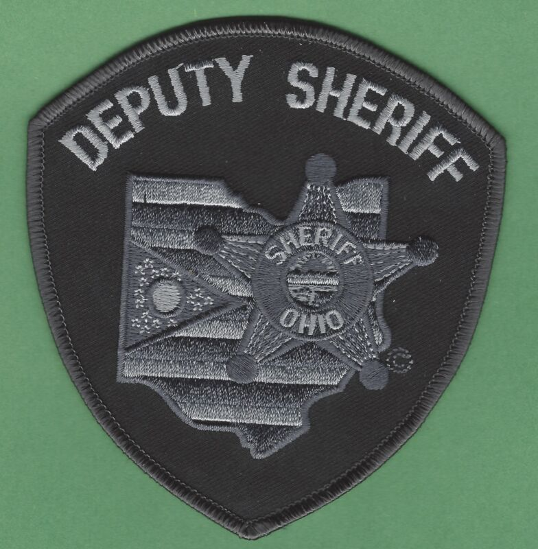 STATE OF OHIO DEPUTY SHERIFF TACTICAL SHOULDER PATCH