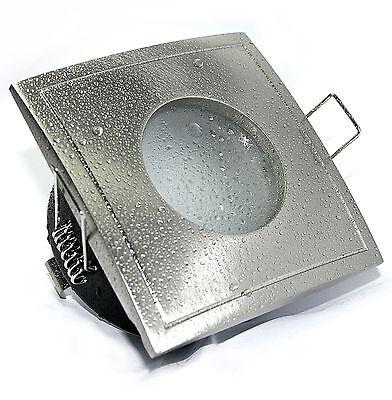 Einbaustrahler für das Badezimmer IP65 Strahler AQUA SQUARE inkl. LED-Lampe 5W