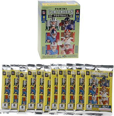 2018 Panini Contenders Football Sealed 11 Pack Fanatics Exclusive Blaster Box