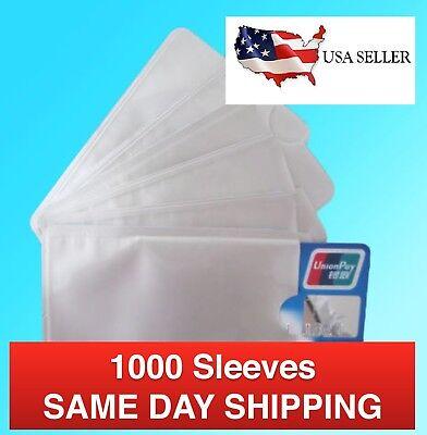 1000 Wholesale Lot RFID Protection Card Holder Metal Sleeve Blocker Credit/Debit
