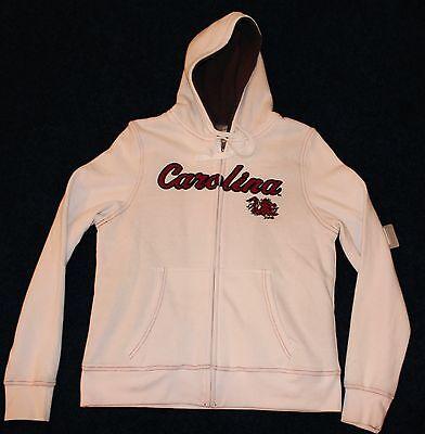 South Carolina Womens Zip (South Carolina Gamecocks Womens/Juniors Zip-Up Jacket With Hood Size Large 12/14)