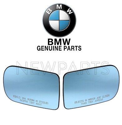 For BMW E38 740i 740iL 750iL Set of Left&Right Door Mirror Glass Heated Genuine