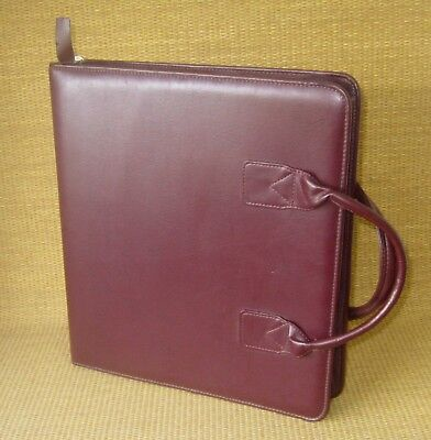 Monarch 1.75 Rings Burgundy Sim. Leather Franklin Coveyquest Plannerbinder