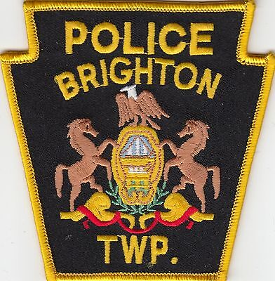 BRIGHTON POLICE PATCH PENNSYLVANIA PA