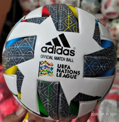 new uefa nation,s league 2020 soccer Match Ball Size 5. fast shipping