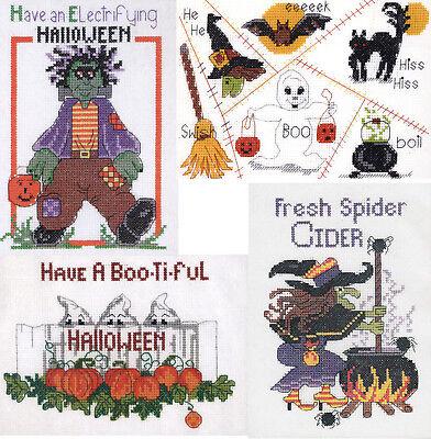Counted Cross Stitch Kit ~ Candamar Halloween - You Choose! - FREE USA - Halloween Counted Cross Stitch Kits