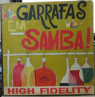 """ZACARIAS FILHO 1961 """"GARRAFAS EM SAMBA"""" BOSSA NOVA JAZZ Original LP BRAZIL HEAR segunda mano  Embacar hacia Argentina"""