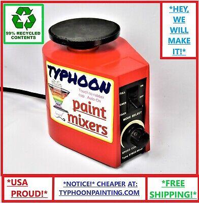Typhoon Paint Mixer W Speed Controls Hobby Gw Vallejo Stirrer Shaker