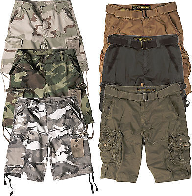 Trooper Camo (Herren Shorts US BDU BW Cargo Trooper Tarn Camo MIL-TEC kurze Hose Bermuda Army )