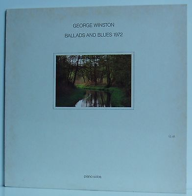 LP George Winston Ballads and Blues 1972 Piano Solos  Lost Lake Arts 1981