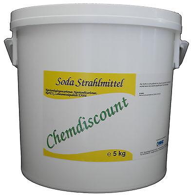 5kg Soda als Strahlmittel zum Sodastrahlen, Strahlsoda, Sodablaster