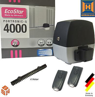 Hörmann EcoStar Portronic S4000 Schiebetorantrieb + 2 Handsender Antrieb Hoftor