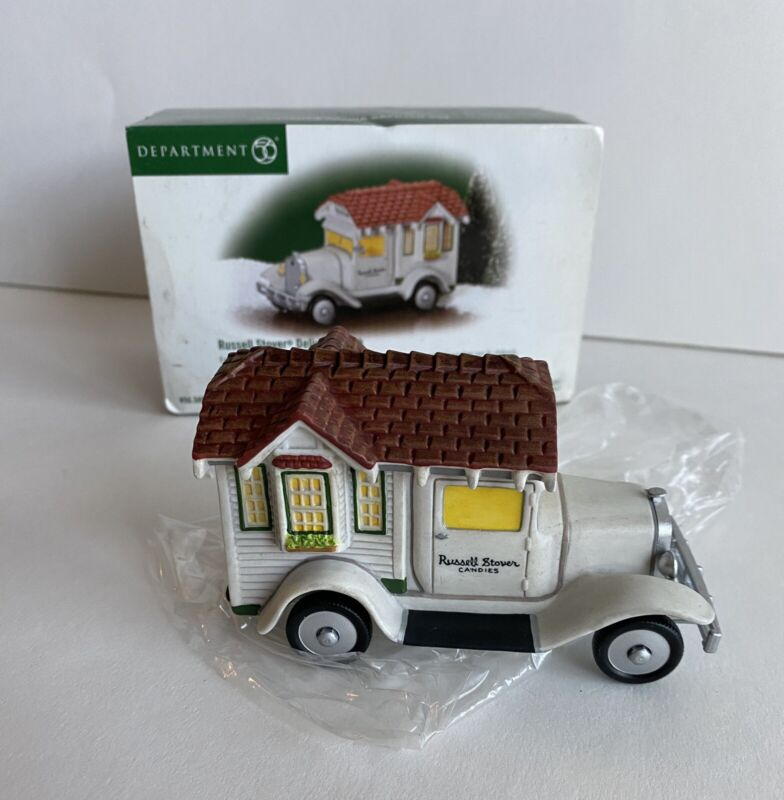 DEPT 56 RUSSELL STOVER DELIVERY TRUCK  58972   MIB
