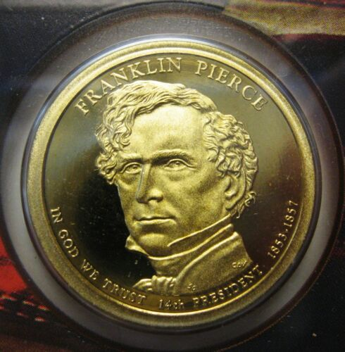 2010-S Franklin Pierce DCAM Proof Presidential Dollar Bargain Priced FREE S&H