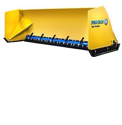 12 Is12l Pro Tech Snow Pusher New Plow Steel Edge Loader Protech