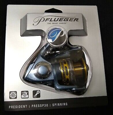 NEW Pflueger President 30 Spinning Reel - PRESSP30 - Free Shipping