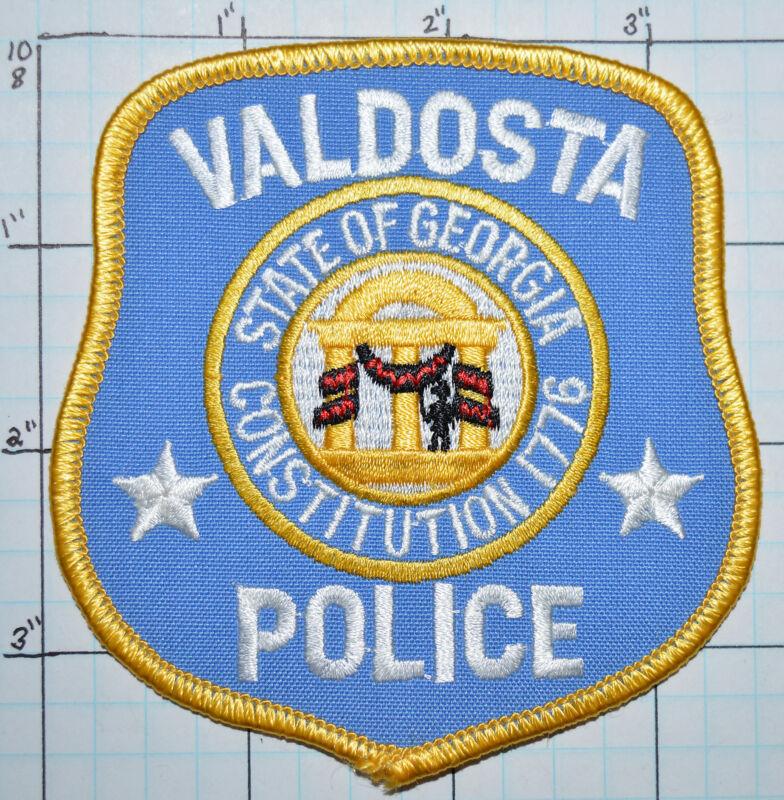GEORGIA, VALDOSTA POLICE DEPT PATCH